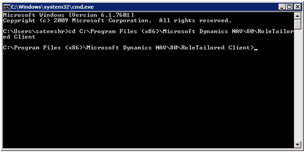 how to open windows command processor