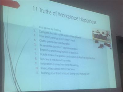 Happy Workplaces Pilot workshop
