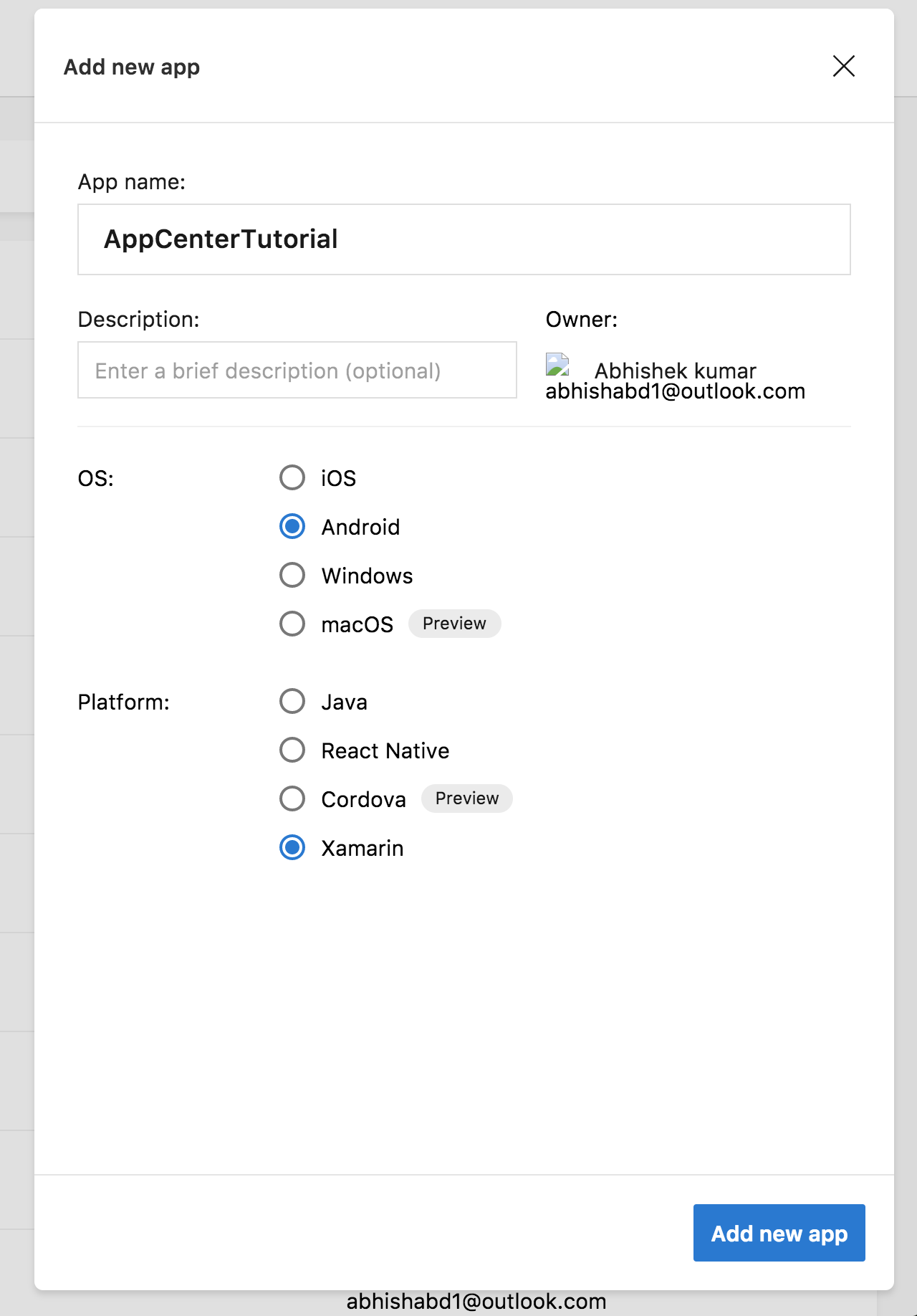 App Center With Xamarin Forms - Blogs