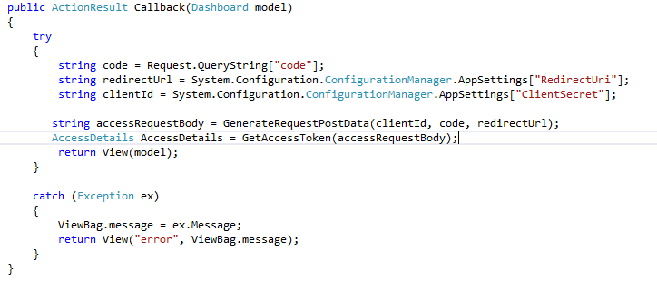 Authorize access to VSTS REST APIs with OAuth 2 0 - Blogs