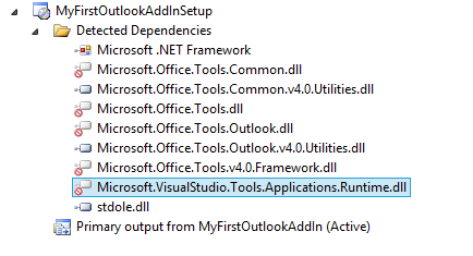 Deploying an Outlook 2010 Add-in Using C# NET And Visual