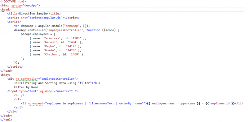 Introduction to AngularJS - Blogs