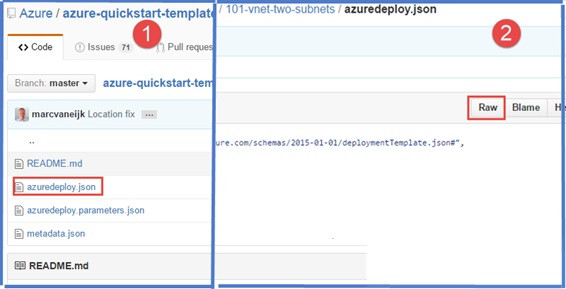 How to Create an Azure Virtual Network by using a Deployment ...