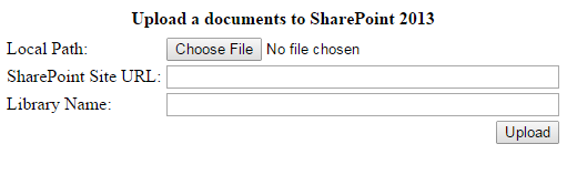 How to upload documents to SharePoint 2013 - Blogs