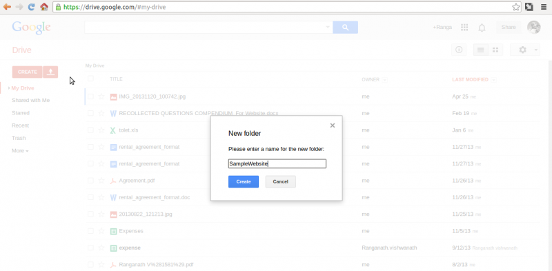 How to Host your Webpages on Google Drive - Blogs