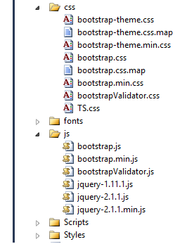 bootstrap include